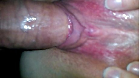 squeezing cum from my balls, please comment